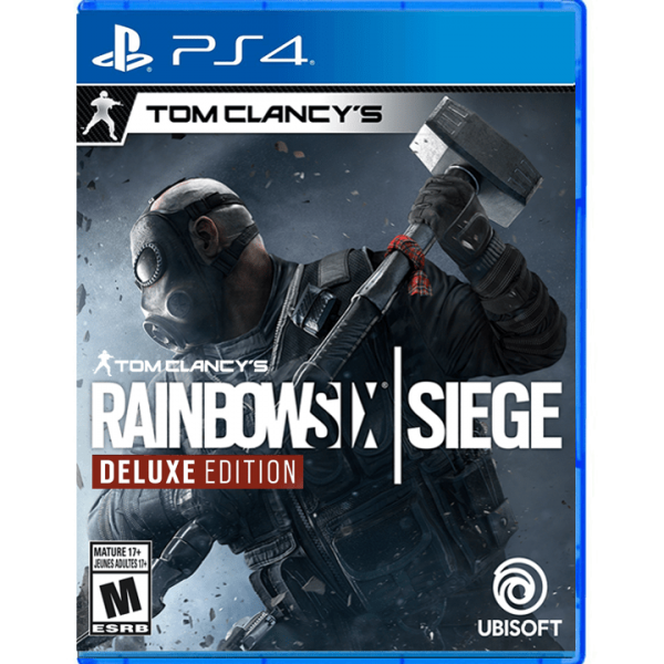 Tom Clancy's Rainbow Six Siege – Deluxe Edition PS4
