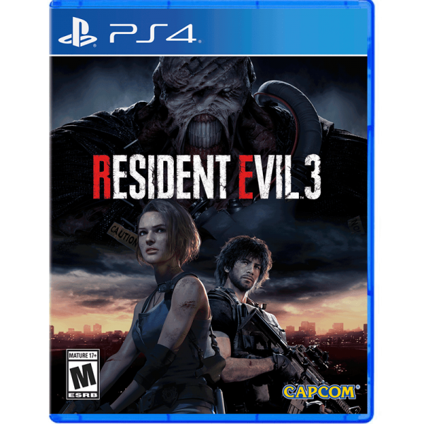 Resident Evil 3 Remake PS4