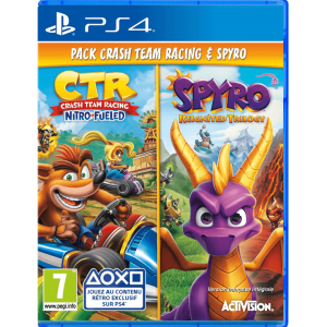 Crash Team Racing + Spyro Game Bundle PS4