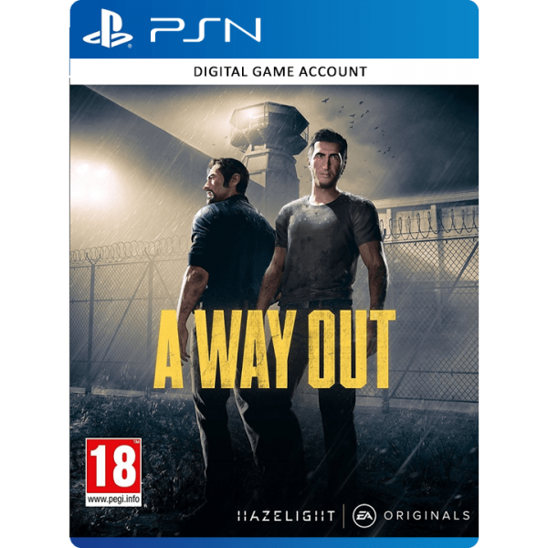 A Way Out PS4 Account