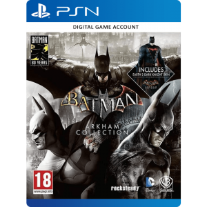 Batman Arkham Collection PS4 Account