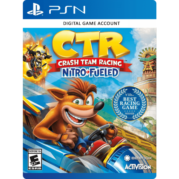 Crash Team Racing PS4 Account