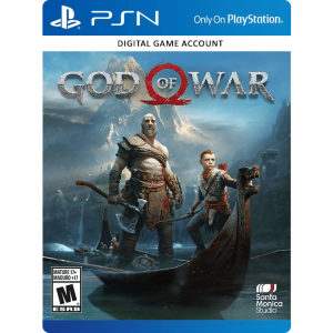God Of War 4 PS4 Account