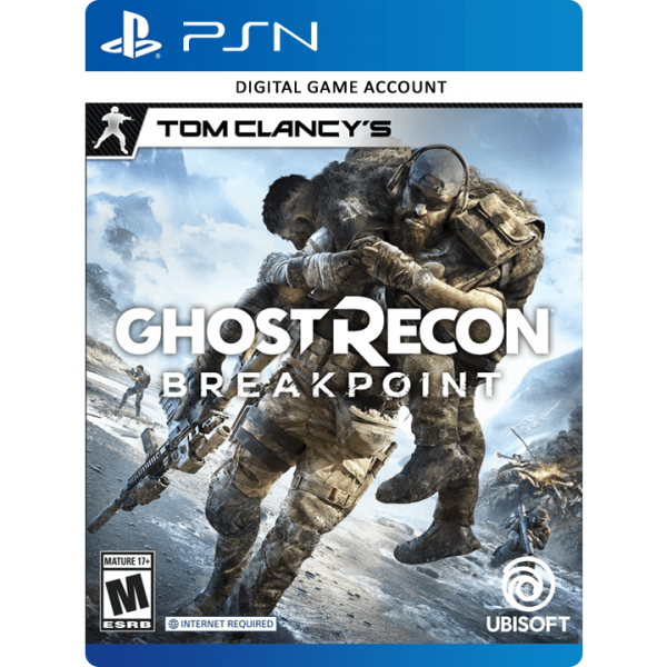 خرید اکانت Ghost Recon: Breakpoint PS4