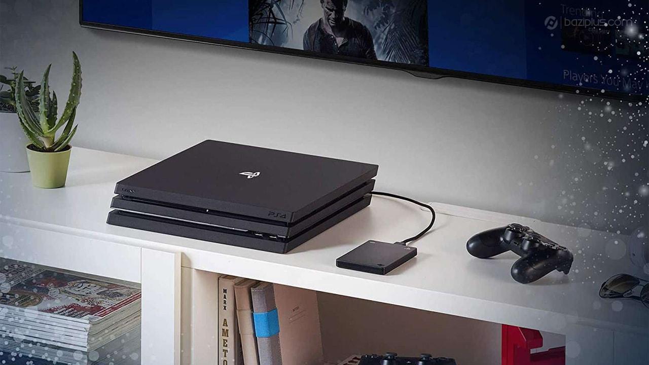 آموزش اتصال هارد اکسترنال به PS4