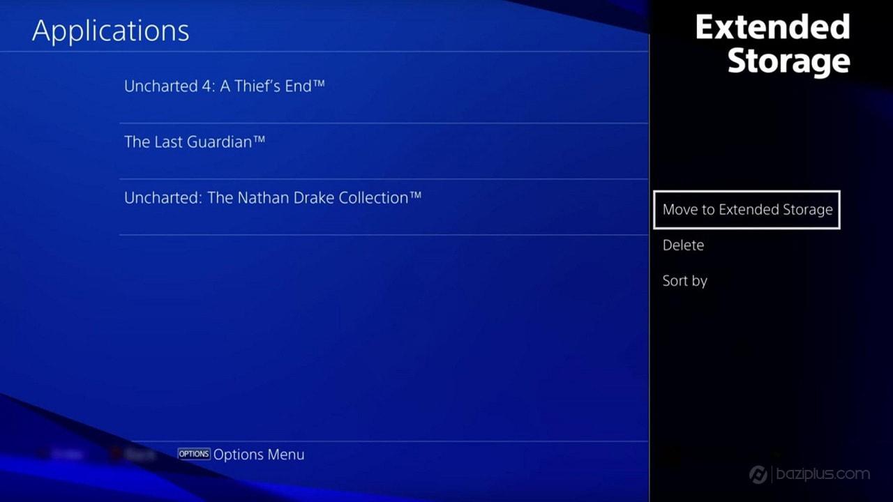 انتقال اطلاعات از PS4 به هارد دیسک