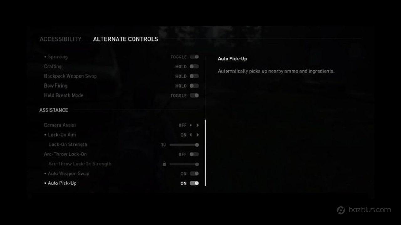 برداشتن خودکار آیتم ها در The Last OF Us Part 2
