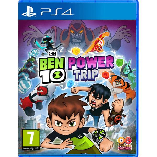 Ben 10: Power Trip PS4