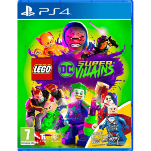 Lego DC Super-Villains PS4