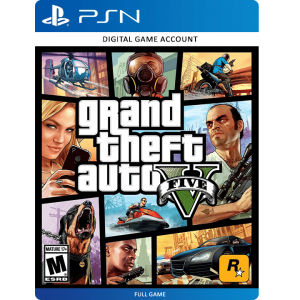 Grand Theft Auto V PS4 Account